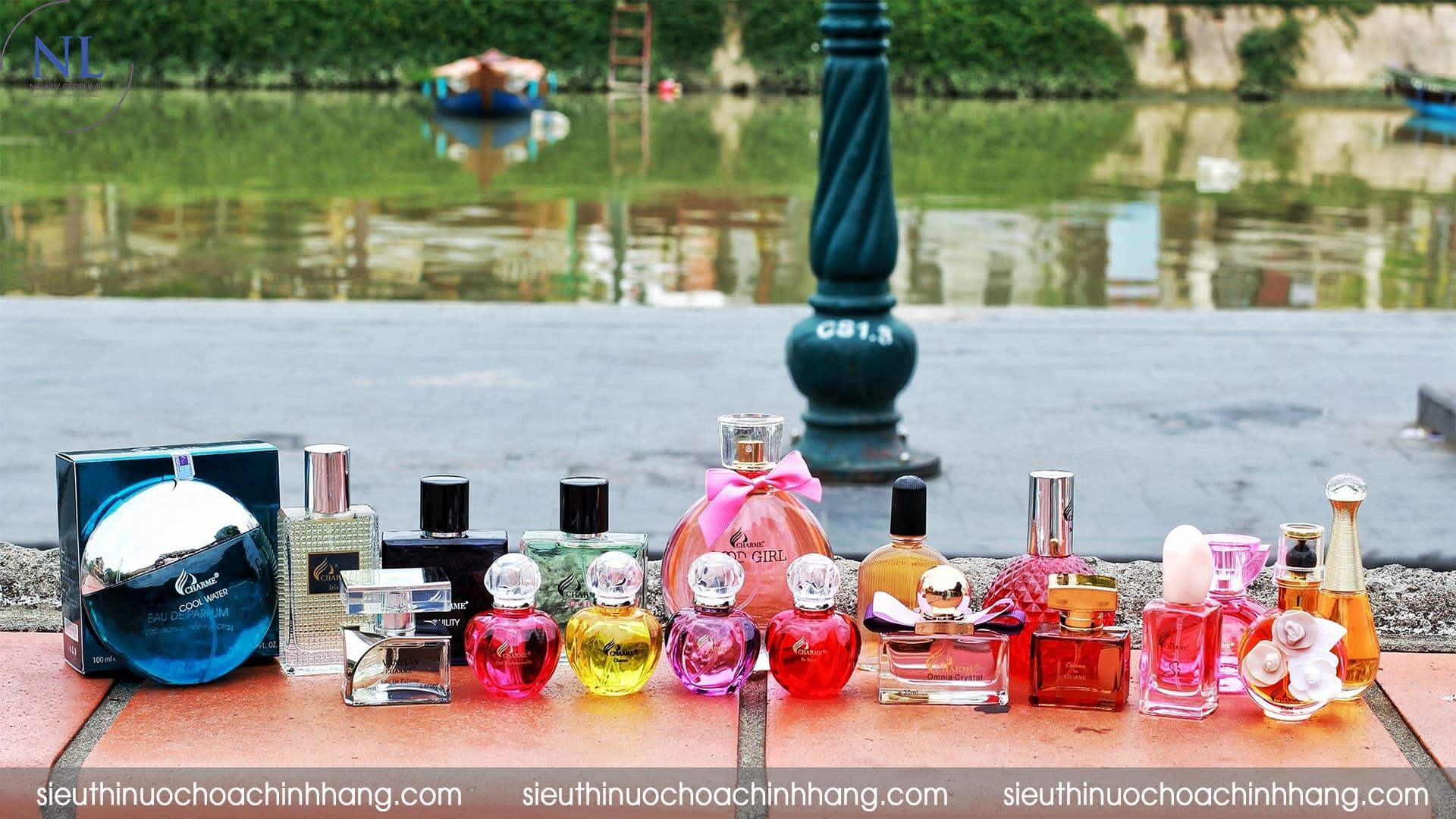 giới thiệu nước hoa charme