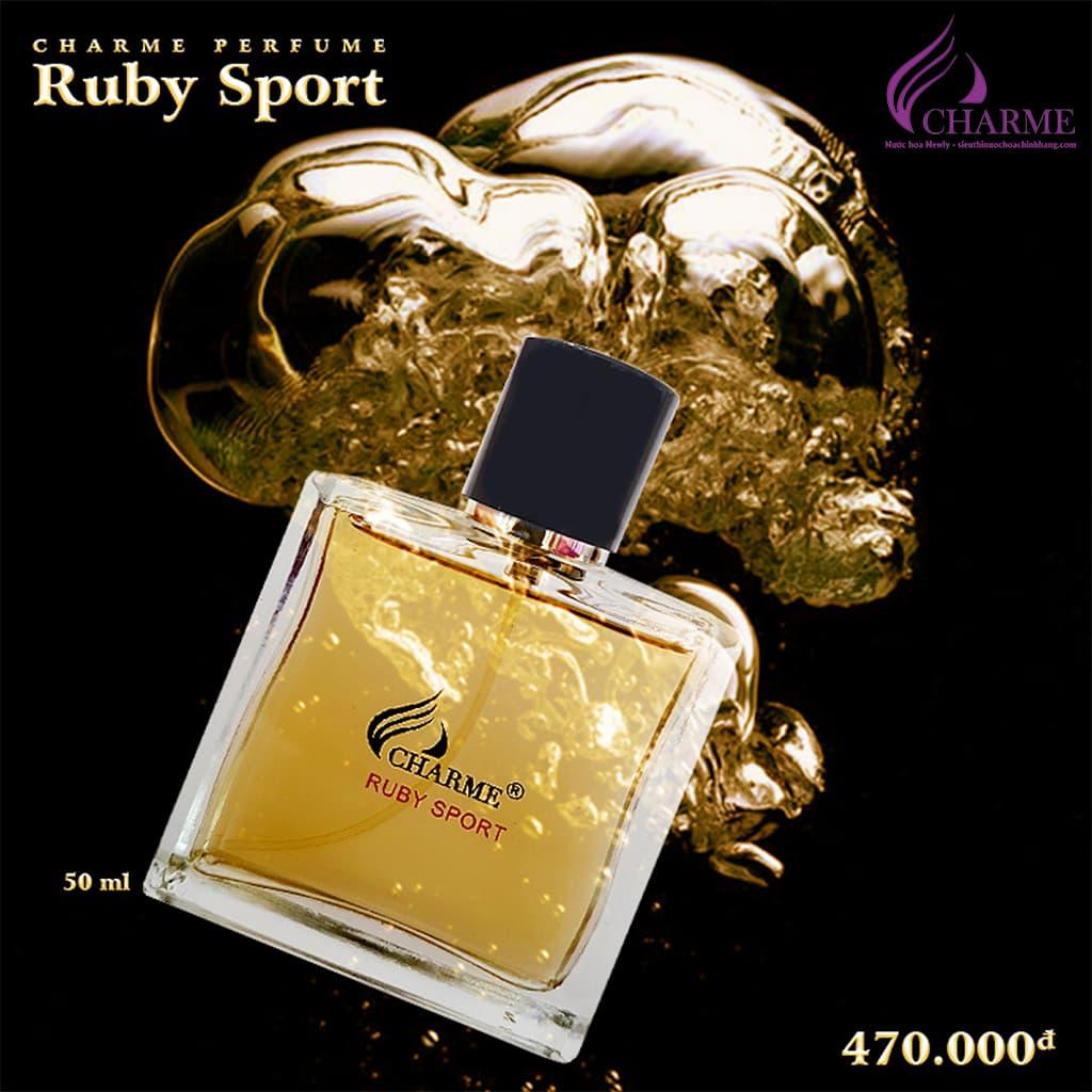 nước hoa charme ruby sport
