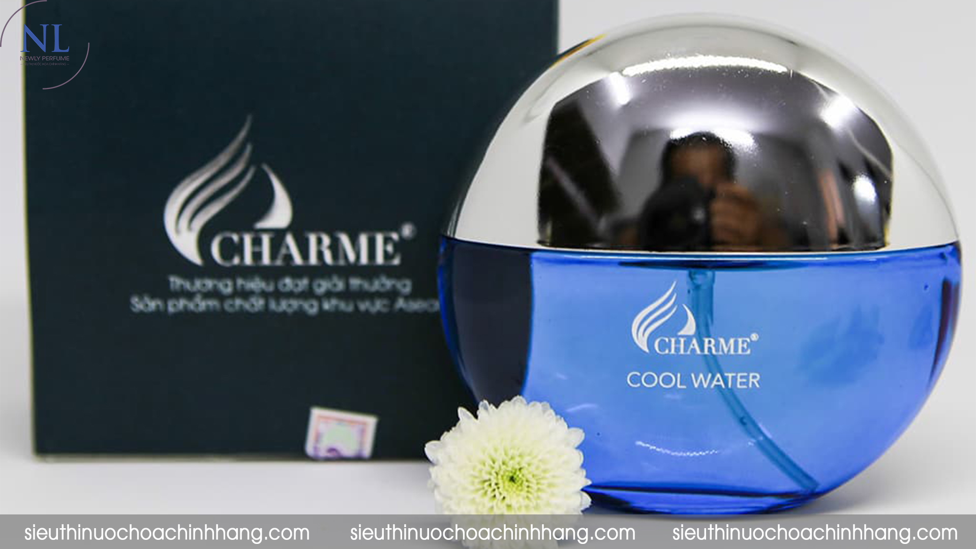 review nước hoa charme cool water