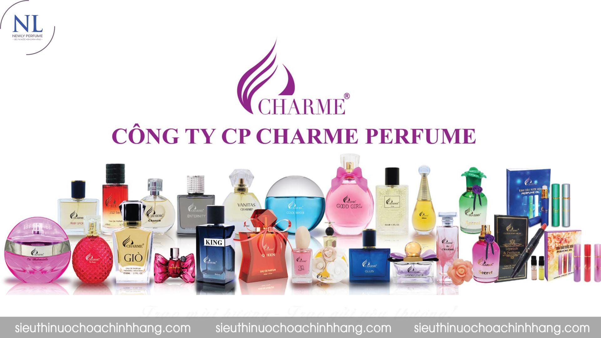 nước hoa charme mùi nào thơm nhất