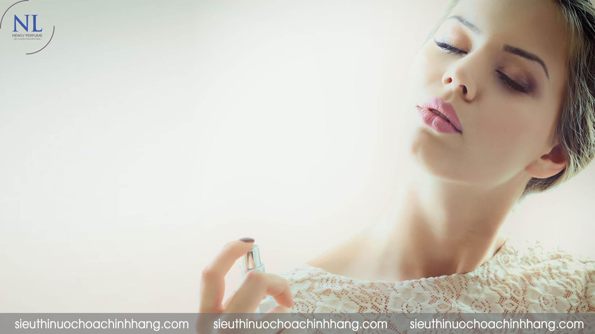 cách sử dụng nước hoa charme