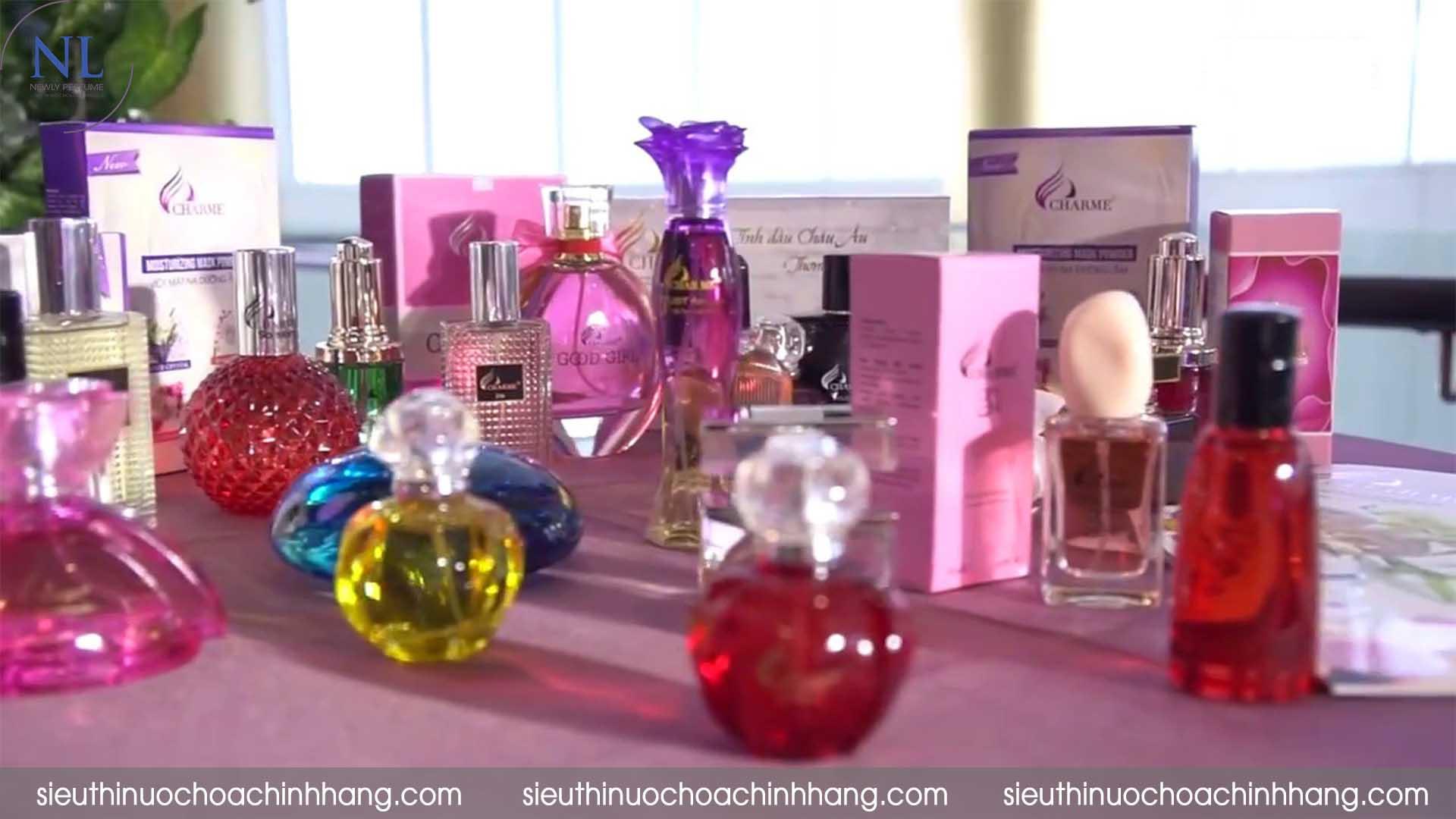 cách bán nước hoa charme online