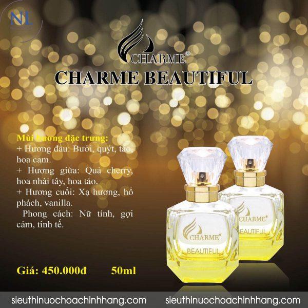 Nước hoa Charme Beautiful