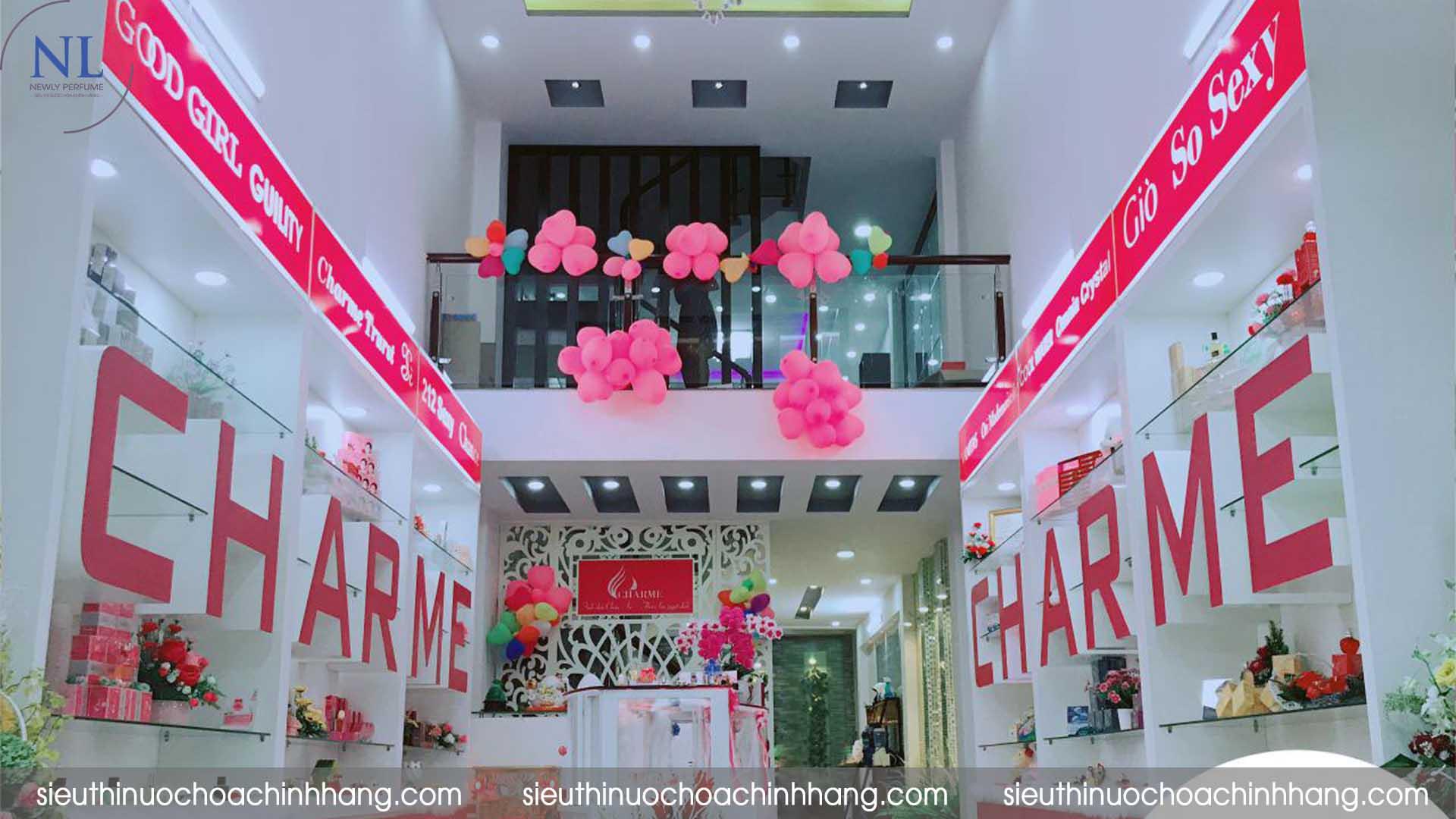 cửa hàng nước hoa charme tphcm